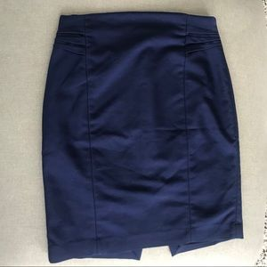 Blue navy Express Pencil skirt